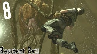 getlinkyoutube.com-PLANT 42/YAWN BOSS BATTLE | Resident Evil [Remastered]: Gameplay - Part 8