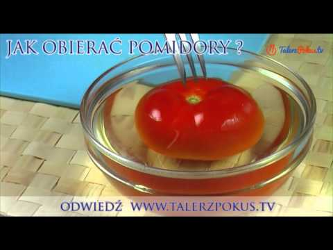 Jak obierać pomidory?