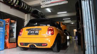 getlinkyoutube.com-280HP Mini Cooper S F56 Mcchip-DKR ECU Tune, Armytrix Exhaust, BMC Filter on CK Motorsport TV