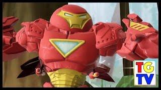 getlinkyoutube.com-Marvel Super Hero Mashers Hulk Buster | Mix + Smash