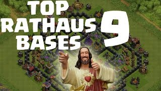 getlinkyoutube.com-TOP RATHAUS 9 BASES! || CLASH OF CLANS || Let's Play CoC [Deutsch/German HD]