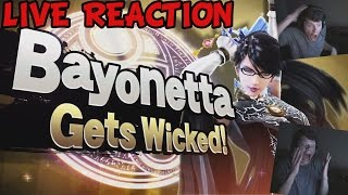getlinkyoutube.com-(LIVE REACTION ) BAYONETTA CONFIRMED FOR SMASH! - Super Smash Bros. Wii U/3DS - SirSanj
