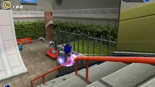 Sonic Adventures 2 on emulator view on youtube.com tube online.
