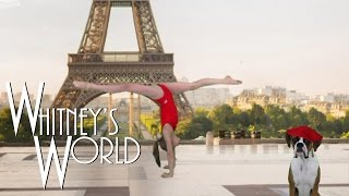 getlinkyoutube.com-How to do a Back Walkover | At the Eiffel Tower | Whitney
