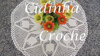 getlinkyoutube.com-Croche-Toalha De Mesa Tulipas- Passo A Passo-Parte 1/2