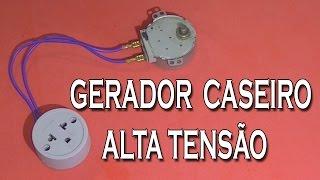 getlinkyoutube.com-Como Fazer GERADOR DE ALTA TENSAO CASEIRO