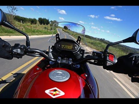 Honda CB500X em estradão de terra batida - Cocalinho/MT