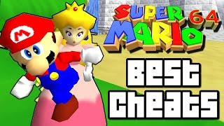 Super Mario 64 BEST CHEATS & HACKS (Wii U, N64)