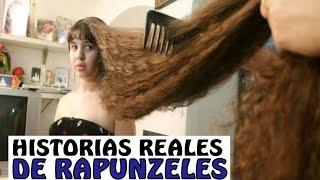 getlinkyoutube.com-LA NIÑA CON EL PELO MÁS LARGO DEL MUNDO *Record Guinness long hair*