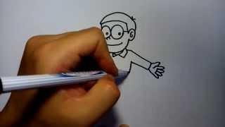 getlinkyoutube.com-สอนวาดรูป โนบิ โนบิตะ by วาดการ์ตูนกันเถอะ สอนวาดรูป การ์ตูน