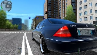 City Car Driving 1.5.1 Mercedes-Benz S600 W220 V12 TrackIR 4 Pro [1080P]