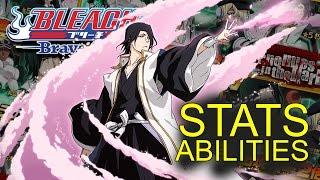 Bleach Brave Souls (NEWS): STATS and ABILITIES for NEW BYAKUYA... and tsukishima, yukio I guess