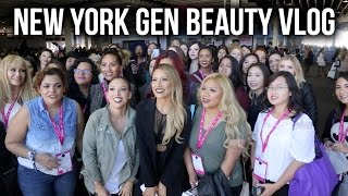 NEW YORK  GEN BEAUTY VLOG width=