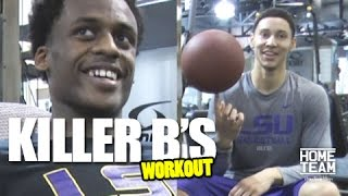Ben Simmons Workout with Antonio Blakeney