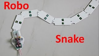 How to make a Snake Robot at home - DIY Robot