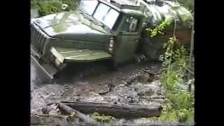 getlinkyoutube.com-Severe Siberian road. Better the Urals, the helicopter