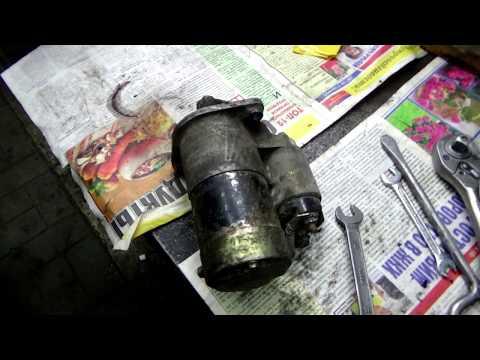 Ремонт стартера на Мицубиcи Шариот ,камера/