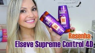 getlinkyoutube.com-Resenha: novo Elseve 4D supreme control por Bia Munstein
