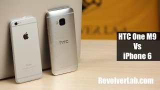 getlinkyoutube.com-iPhone 6 vs HTC One M9 [Сравнение на RevolverLab.com]
