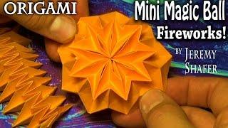 getlinkyoutube.com-Origami Mini Magic Ball Fireworks