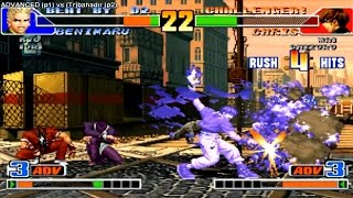 getlinkyoutube.com-KoF 98 - ADVANCED (Brazil) vs bahadir (Turkey)