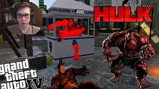 getlinkyoutube.com-GTA IV Spiderman Rhino Mod + Red Hulk Mod - Red Hulk vs Rhino! Who is Stronger?