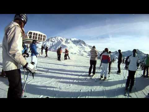 GoPro HD Hero - Les Arcs 2011 - Part 1 - Group Session WATCH IN HD