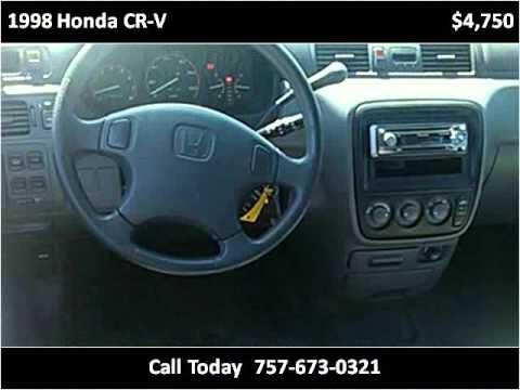 1998 Honda CR-V Used Cars Virginia Beach VA