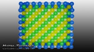 getlinkyoutube.com-How to make a balloon wall, Anleitung für eine Ballon Wand, decoration, Dekorationwand, Luftballon