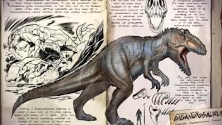 Todos Los Dinosaurios De :ARK SURVIVAL EVOLVED