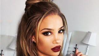 getlinkyoutube.com-Holiday GLAM Makeup Tutorial!