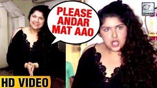 Arjun Kapoor's Sister Anshula Kapoor's Funny Gesture Towards Media   LehrenTV