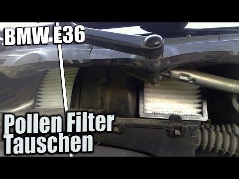 BMW E36    Pollen Filter Tauschen