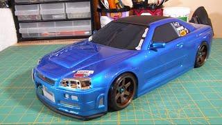 getlinkyoutube.com-Drift Project: Tamiya TT01 E Build / Upgrade Series - Episode 12