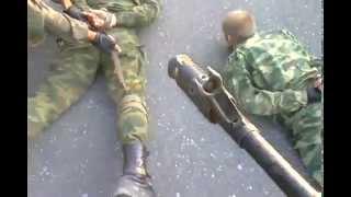 getlinkyoutube.com-Сепаратисты попали в плен к нашим ребятам