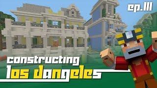 getlinkyoutube.com-Minecraft Xbox 360: Constructing Los Dangeles - Episode 111! (MOAR Town Houses!)