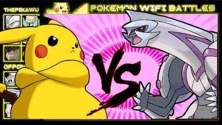 getlinkyoutube.com-Pikachu Vs. Legendaries! (Pokemon Black and White Ubers Wifi Battle)
