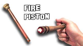 getlinkyoutube.com-✔ How To Make a Fire Piston