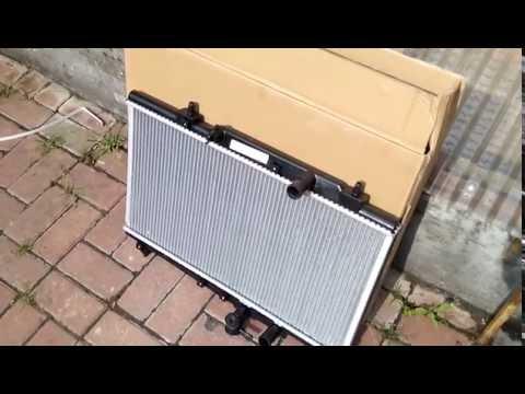Расположение радиатора кондиционера у Lifan Solano