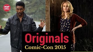 SDCC 2015: Leah Pipes e Yusuf Gatewood de The Originals