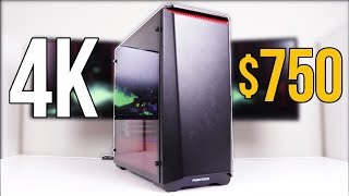 My Little Brother's New $750 4K Gaming PC!