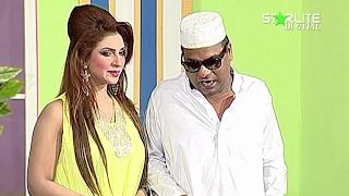 getlinkyoutube.com-Comedy Dharna New Pakistani Stage Drama Full Comedy Funny Play