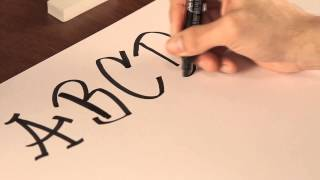 getlinkyoutube.com-Cómo dibujar letras de graffiti : Tips de dibujo