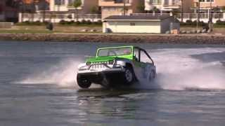 The WaterCar Panther? Drive, Fish, WakeBoard, Be Awesome.