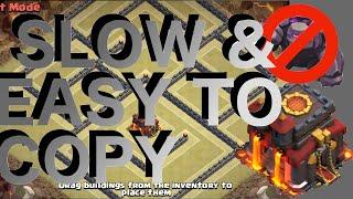 getlinkyoutube.com-Slow & Easy To Copy - Popular Th10 War Base! Anti-2 Star! Anti-Gowipe & Gowiwi! | Clash Of Clans