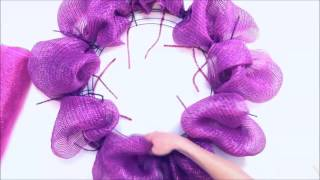getlinkyoutube.com-Deco Mesh Wreath