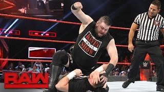 getlinkyoutube.com-Sami Zayn vs. Kevin Owens: Raw, Feb. 20, 2017