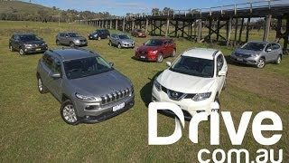 getlinkyoutube.com-CX-5 v CR-V v ix35 v X-Trail v Kuga v RAV4 v Cherokee v Forester v Sportage | Drive.com.au