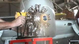 getlinkyoutube.com-Clayton's 9 CYLINDER RADIAL ENGINE