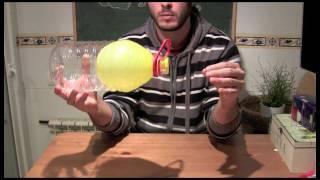 getlinkyoutube.com-Experimentos caseros - Globo y botella ( Con explicación )